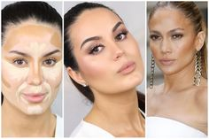Contouring before and after. Find the best contouring products and learn tips and tricks on www.contouring101.com