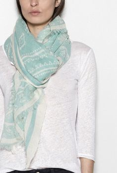 Folk wool scarf • Lily And The Lady