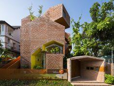 Brick Award 20: A Tribute to High Quality Brick Architecture Brick Architecture, Architecture Images, Brick Facade, Brick Wall, Village Houses, Ceramic Materials, Affordable Housing, Built Environment, House Design