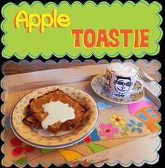 Easy Peasy Pudding and Pie!: Apple Toastie
