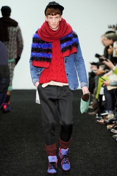 Sibling | Fall 2014 Menswear Collection | Style.com