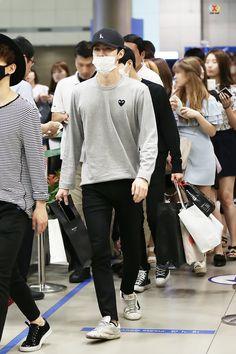 150614: EXO Oh Sehun; Taipei Airport to Incheon Airport #exok #fashion #style