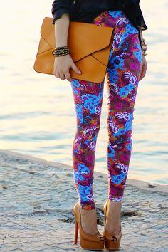 Blog da Lê-Moda Acessível: Legging Estampada by Myth