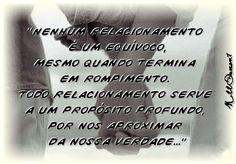 Nenhum relacionamento é um equívoco...
