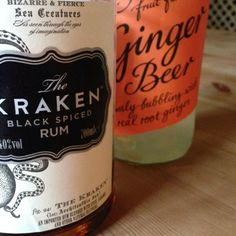 the happy couple - spiced rum and ginger beer
