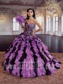 vestidos de xv lila - Buscar con Google