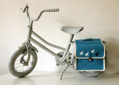 "superduper cute kids bicycle bags: ""Meisen"" - Fahrradtasche (daWanda)"