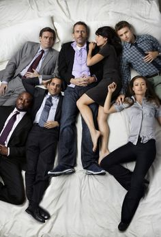 Everybody's sleeping with everyone else clearly. I love how Cuddy has no shoes.