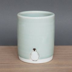 Large Tumbler Small Penguin  by SKT Ceramics