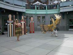 Tawera Tahuri & Gene Tagaban Tlingit, Pacific Northwest, North West, Crow, Storytelling, Supernatural, Coast, Culture, Artists