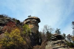 Chimney Rock State Park, near Asheville, North Carolina.