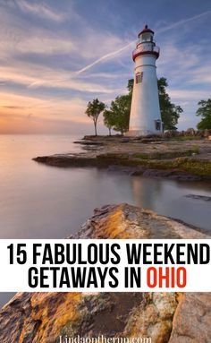 Looking for weekend getaways in Ohio? Born & raised in Ohio here are 15 of my fave weekend getaways in Ohio. Ohio Weekend Getaways, Best Weekend Getaways, Vacation Resorts, Vacation Spots, Vacations, Cool Places To Visit, Places To Travel, Ohio Destinations, Camping In Ohio