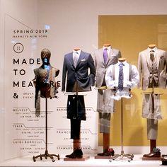 Mens Suit Stores, Visual Merchandising Fashion, Fashion Retail Interior, Fashion Window Display, Clothing Store Displays, Store Layout, Retail Store Design, Visual Display, Life Design
