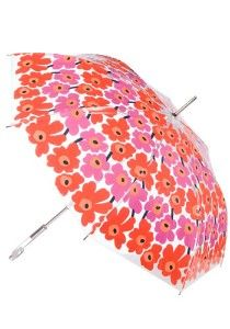 This sturdy umbrella by Finnish Brand Merimekko will protect you from the most wicked weather! These colorful poppies might remind you of Dorothy's trip through the field to Emerald City, but the bright blooms aren't the only magical thing about this accessory - we were also enchanted by its wide canopy and classic good looks!