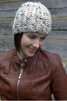 Mistake Rib Hat Free Knitting Pattern