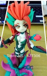 League of Legends LOL Handmade Lightweight Clay Zyra Action Figure Free Shipping