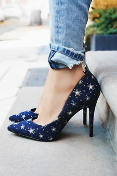 Charles David Star Light Heel at Free People Clothing Boutique
