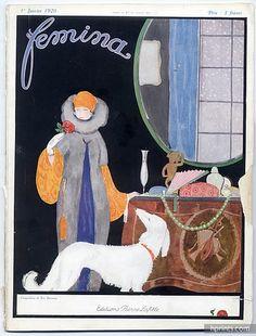 Zyg Brunner (1878 – 1961). Femina, 1 Janvier 1920. [Pinned 21-x-2015]