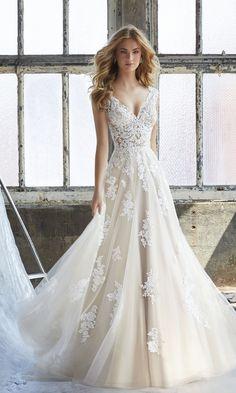 Courtesy ofMorilee by Madeline Gardner wedding dresses
