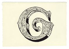 Another new blog I love. Every day, a new hand drawn letter.