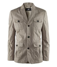I have to get this beautiful cotton jacket. It's only for 35 quid. Star Clothing, Clothing Co, Safari Vest, Pants Drawing, Style Costume Homme, Recycled Dress, Dandy Style, Sweater Jacket, Jacket Dress