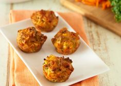 These are great for lunchboxes, work lunches, home lunches, they would even work for bring a plate morning tea!  Pumpkin, Goats cheese and Parmesan Savoury Muffins:  #savoury #snack