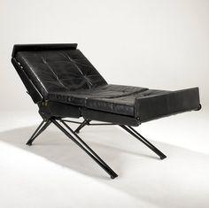 OSVALDO BORSANI / TECNO Adjustable lounge chair