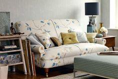 Tecidos Sanderson, colecção Bloomsbury Canvas. À venda na Nova Decorativa! #decoração #tecidos #homedecor #fabrics #Sanderson