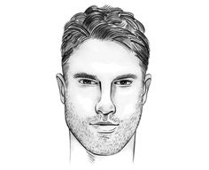 The perfect men's hairstyle/haircut for a Rectangle/Oblong Face Shape