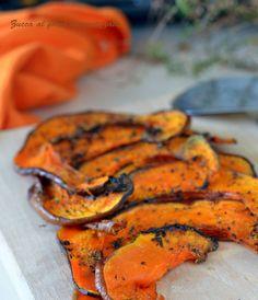 zucca al forno aromatizzata #mieledilavanda #food