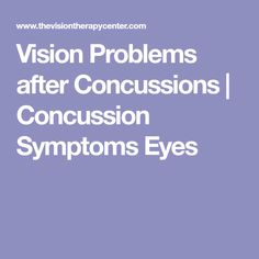 55 Best Concussion Rehab images in 2018 | Post concussion syndrome