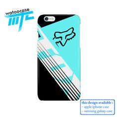 Fox Racing Savant Black Phone Case | Apple iPhone 4 4s 5 5s 5c 6 6s Plus Samsung…