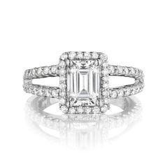 1.0ct Emerald cut diamond for $1,261 on diamondhedge.com today!