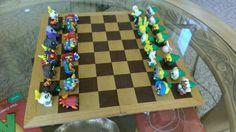Legend of Zelda Majoras Mask Chess Pieces Set by CritterCraftz