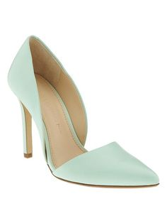 Adelia D'Orsay Pump -Banana Republic  In love with this shoe in every color!