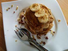 Besonders hübsche Mandel-Pancakes gab es diese Woche bei Christina.