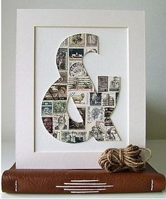 Clever use of stamps!