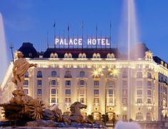 Westin Palace Hotel Madrid Spain. My husband and I had a 10 day stay here.  The hotel is grand by far and the service impeccable!  I love this hotel!! I loved my visit to Madrid, Spain!