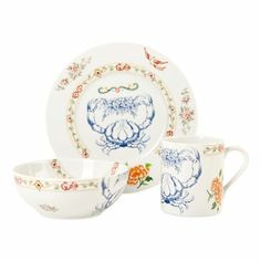lunch bowl, plate and mug set ZARA 2013