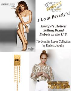 Check out Jennifer Lopez's JLo Collection from Endless Jewelry at Beverly's Jewelers.  www.bevjewelers.com