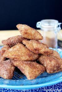 Deep Fried Apple Pie Bites on MyRecipeMagic.com #fried #apple #pie #bites