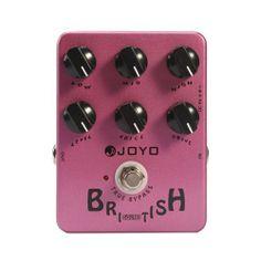 Joyo JF-16 British Sound. Tech 21 Marshall-in-a-box clone. $40 Retail.