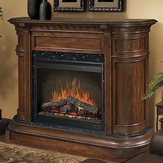 I want this electric fireplace for my living room when the kids are done using it as a playroom.