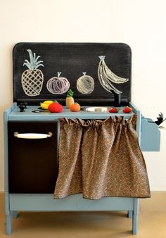 Toy kitchen by Macarena Bilbao