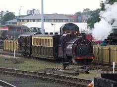Ffestiniog 1870's' vintage train at RailFest, National Railway Museum (08/06/2012   Flickr - Photo Sharing!