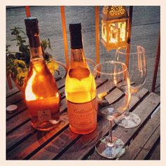 Love a Rosé on the Deck happy hour #wine