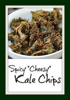 "Spicy ""Cheesy"" Kale"