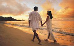 Casatorii religioase si civile in Insula bali. Spuneti da pe malul marii, la apus de soare.