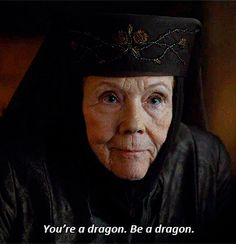 Olenna Tyrell to Dany Season 7 Lady Olenna Tyrell, Game Of Trone, Game Of Thrones Funny, Game Thrones, Valar Dohaeris, Valar Morghulis, Miss You Already, My Champion, Cinema