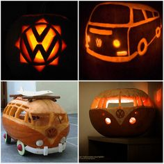 #VW carved pumpkins! What are your thoughts on these?